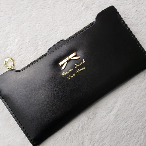 Forever Friend Your Choice Handbags - 3/$20 Forever Friend Your Choice Black Slim Wallet